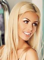 South Kensington blonde Ariana london escort