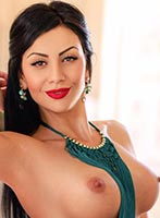 South Kensington brunette Magda london escort