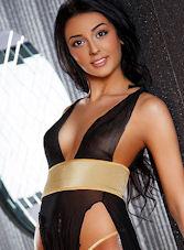 Queensway brunette Emelda london escort