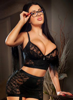 Chelsea brunette Alegra london escort