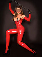 Baker Street pvc-latex Claire Gold london escort
