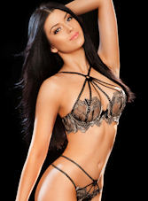 South Kensington brunette Rachel london escort