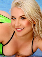 Marylebone blonde Alba london escort