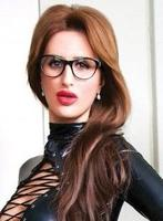 Kensington Olympia pvc-latex Adelina london escort