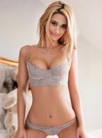 Chelsea blonde Freya london escort
