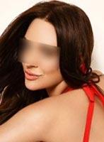Chelsea brunette Ambra london escort