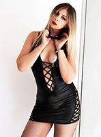 Archway pvc-latex Mistress Kitty london escort